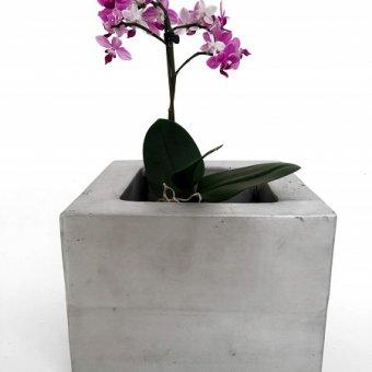 Boho - vaso a base quadrata