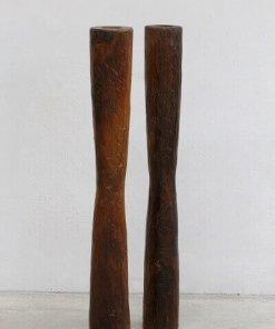 Rosewood candle holder
