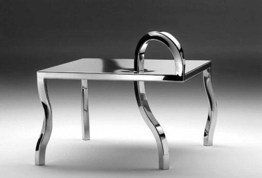 Coffee table quadrato di design